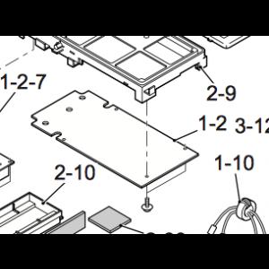 Kretskort for utendørsenhet på Nordic Inverter JHR-N