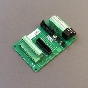 PXB-terminalkort uten terminalkontakt.