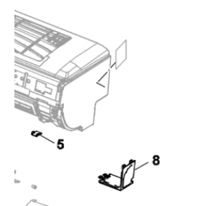 008B. Dekselhette Nordic Inverter og Bosch Compress interiør