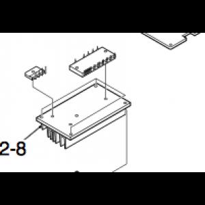 Varmeavleder for kretskort på utendørsenhet Nordic Inverter DR-N