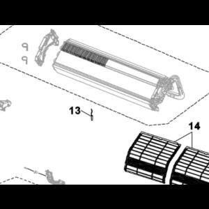 018A. Sensor for kondensatoren på JHR-N / KHR-N / PHR-N S / EHP