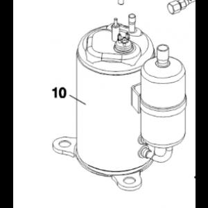 010B. Kompressor til IVT Air Combo 60