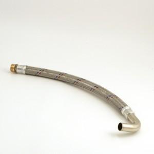"""002aC. Flekseslange 3/4 """"L = 569mm med sving IVT Original"""