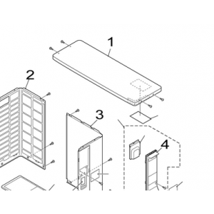 001B. Toppsang for Nordic Inverter FRN / GRN / KHRN / JHRN / PHRN