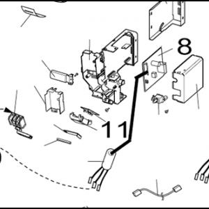 011A. Diodeskjerm for nordisk inverter LR-N og PR-N