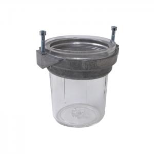 Beholder for Bentone-filtre