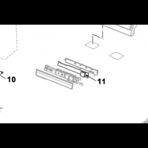 011B. Display for Nordic Inverter og Bosch Compress 7000