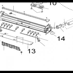 014. Luftavledningsmotor for Nordic Inverter LR-N / PR-N