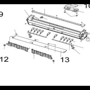 013. Luftdeflektor for Nordic Inverter LR-N og PR-N