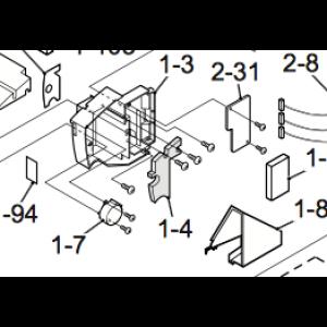 Luftavvisningsmotor for Nordic Inverter 12 HRN
