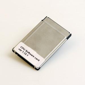 CPU-programvarekort ver 1.12.1