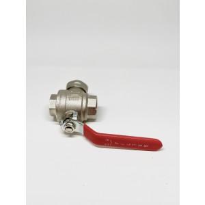 044C. Filterkule DN20 - Rengjøringsfilter for varmesystemer