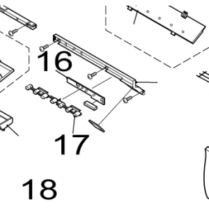 017A. Diode guide / Diode glass for IVT Nordic Inverter GR-N / FR-N