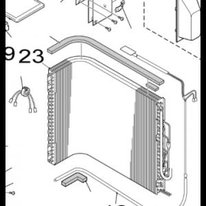 023B. Kondensator for utendørsanlegget på Nordic Inverter 12 FRN / GRN