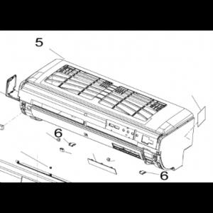 Hele frontpanelet for Nordic Inverter JHR-N / KHR-N