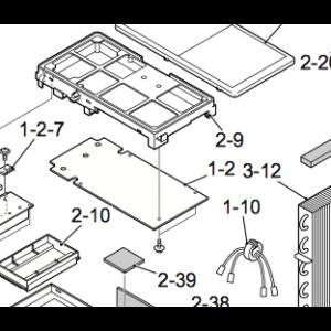 Kretskort / kontrollkort utendørsenhet Nordic Inverter 09 FR-N