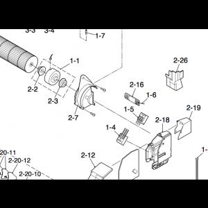 Viftesensor til IVT Nordic Inverter 09DR-N