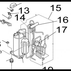 017B. Ekspansjonsventil for Nordic Inverter GR-N / FR-N
