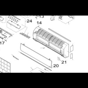 020A. Frontpanel for Nordic Inverter GR-N og FR-N