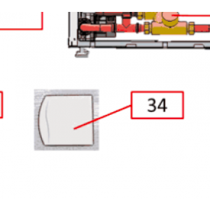 Ekstern romføler IVT FVP 840/860