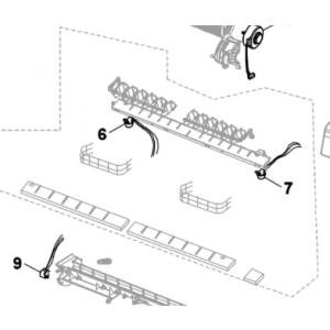 009B. Motor for luftavleder Nordic Inverter og Bosch Compress 7000