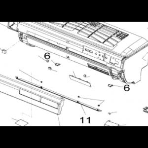 011A. Luftomformer for Nordic Inverter JHR-N / KHR-N