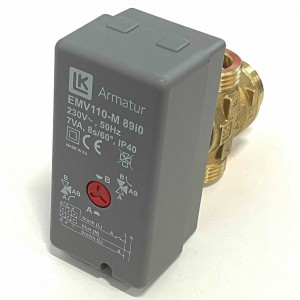 """004. Girventil 525 - G1 """"Motor EMV110M"""