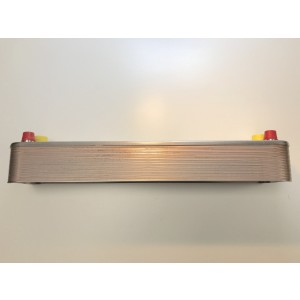 Varmeveksler kondensator inkl. isolere