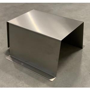 Beskyttelse av rustfritt stål utendørs i bøyd metall