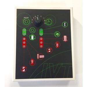 CL300 panelkort i fjernkontrollen. LVP