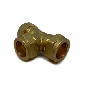 T-rør klemringskobling 22 mm