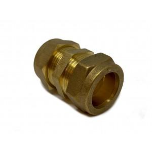 Klemringskobling rett 22 mm 3-pakning