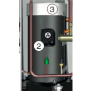 Isolasjonshette, kompressor Cl12-17 Double