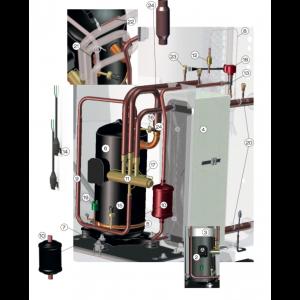 Varmgassrør komplett 410
