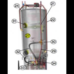 Rør Cu 22X1 Inkl. Gasspedal 5 mm