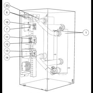 Elektrisk kassett som passer til ELK-42