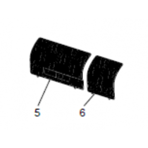 Front venstre filter (FA-serien)