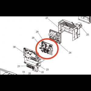 NOISE FILTER PCB S70E70346