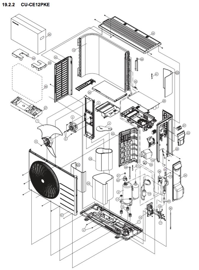 Panasonic CU-CE12PKE JS Energi